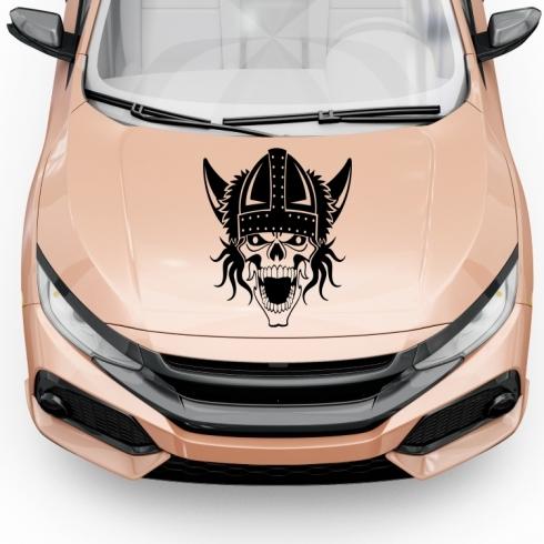 Viking - na kapotu - vinylová samolepka na auto