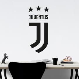 Znak fotbal Juventus Turín - vinylová samolepka na zeď