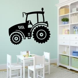 Traktor Zetor - vinylová samolepka na zeď