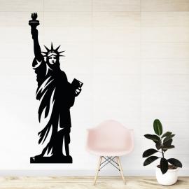 Socha svobody - vinylová samolepka na zeď