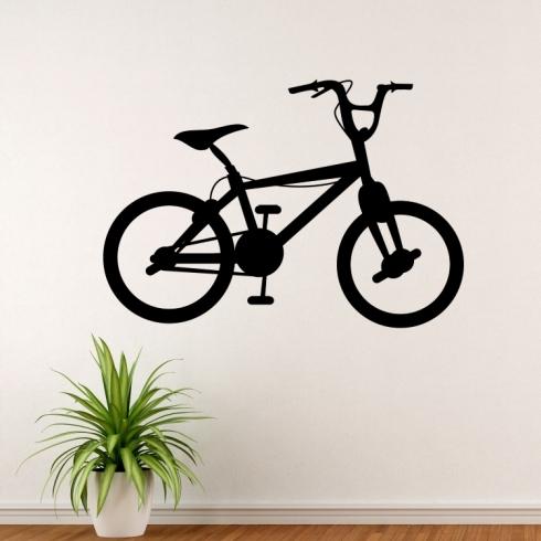 BMX kolo - vinylová samolepka na zeď