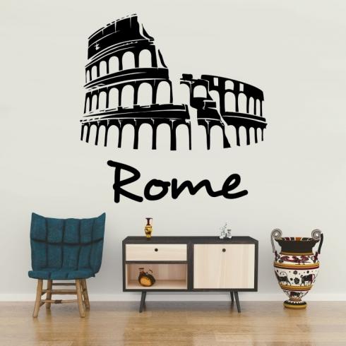 Koloseum v Římě - vinylová samolepka na zeď