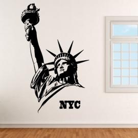 Socha Svobody NYC - vinylová samolepka na zeď