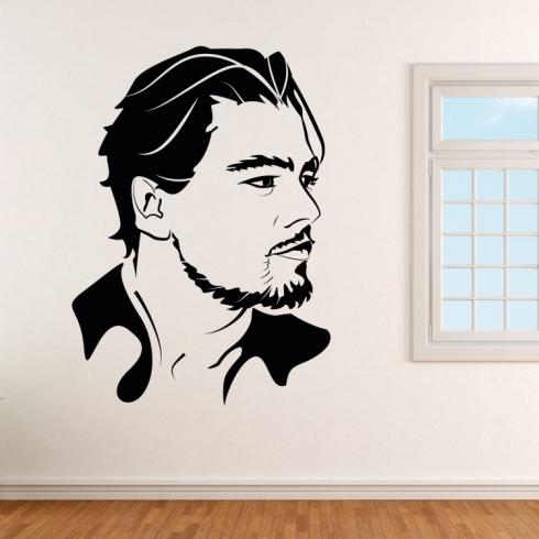 Leonardo DiCaprio - vinylová samolepka na zeď