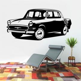 Auto Škoda MB 1000 - vinylová samolepka na zeď