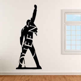 Freddie Mercury Queen 1 - vinylová samolepka na zeď