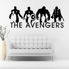 The Avengers - vinylová samolepka na zeď