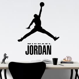 Michael Jordan - vinylová samolepka na zeď