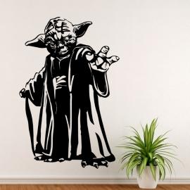 Yoda ze StarWars - vinylová samolepka na zeď